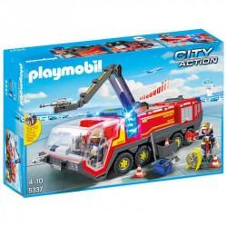Camion Bomberos Aeropuerto Playmobil City Action