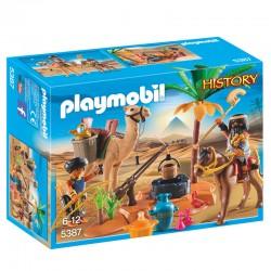 Campamento Egipcio Playmobil History