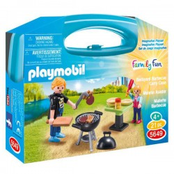 Maletin Barbacoa Playmobil Family Fun