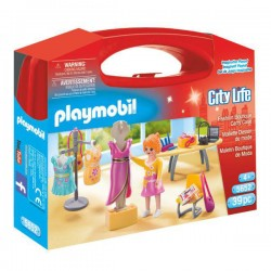 Maletin Moda Playmobil City Life
