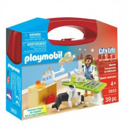 Maletin Veterinaria Playmobil City Life