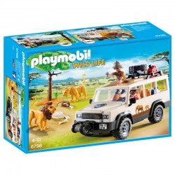Camion Safari con Leones Playmobil Wild Life