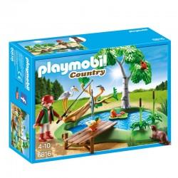 Lago con Animales Playmobil Country