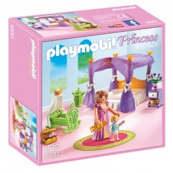 Dormitorio Princesas con Cuna Playmobil Princess