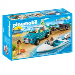 Pick Up con Lancha Playmobil Summer Fun
