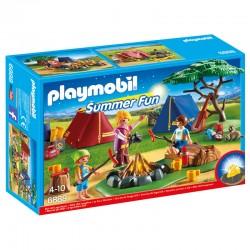 Campamento con Fogata Playmobil Summer Fun