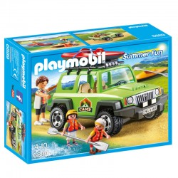 Vehiculo 4x4 con Canoa Playmobil Summer Fun