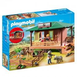 Clinica Veterinaria de Africa Playmobil Wild Life