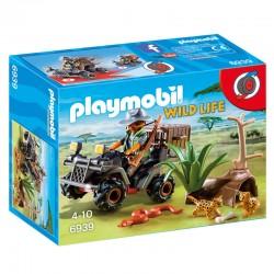 Explorador con Quad Playmobil Wild Life