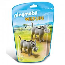 Jabalies Africanos Playmobil Wild Life