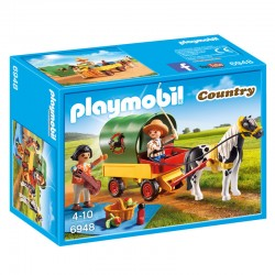 Picnic con Poni y Carro Playmobil Country