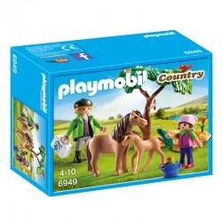 Veterinario con Ponis Playmobil Country