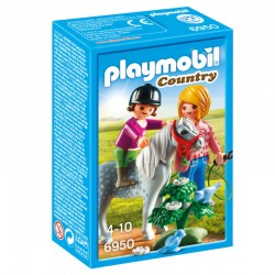 Paseo con Poni Playmobil Country