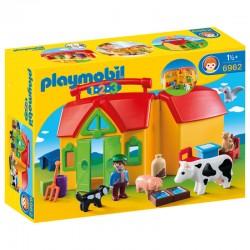 Granja Maletin Playmobil 1.2.3