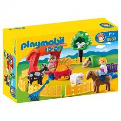 Recinto de Animales Playmobil 1.2.3