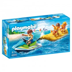 Moto de Agua con Banana Playmobil Family Fun