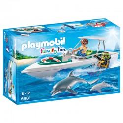 Viaje de Buceo Playmobil Family Fun