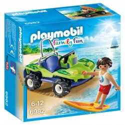 Surfista con Buggy Playmobil Family Fun