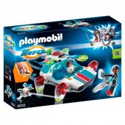 FulguriX con Agente Gene Playmobil Super 4