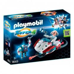 Skyjet con Dr. X y Robot Playmobil Super 4