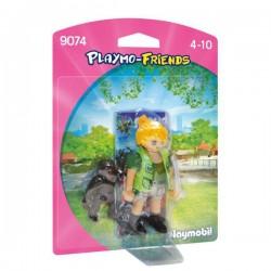Cuidadora con Bebe Gorila Playmobil Playmo Friends