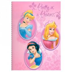 Block Princesas Disney A4 140h surtido