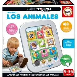 Descubro los animales Educa Touch Baby