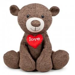 Peluche oso love 35cm surtido