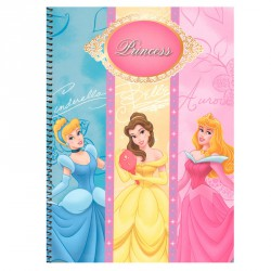 Block Princesas Disney A4 80h surtido