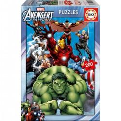 Puzzle Vengadores Avengers Marvel 200