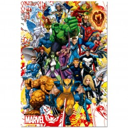 Puzzle Superheroes Marvel 500