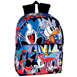 Mochila Mickey Disney Madness 42cm adaptable