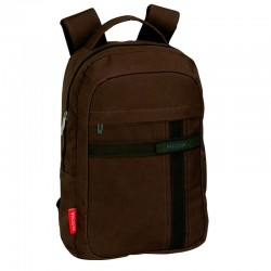 Mochila ordenador Perona Business 43cm marron