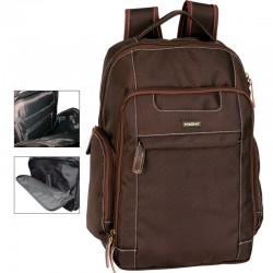 Mochila ordenador Perona Business New York 42cm marron