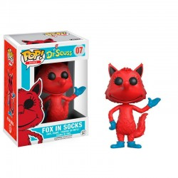 Figura Vinyl POP! Dr. Seuss Fox in socks