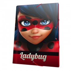 Carpeta A4 gomas Prodigiosa Ladybug