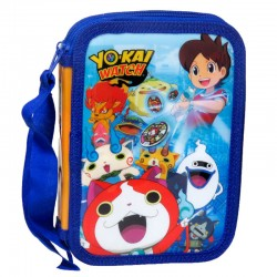 Plumier Yo Kai Watch doble