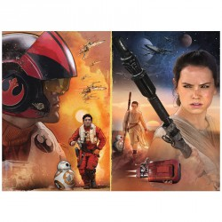 Puzzle Star Wars Episodio VII XXL 100pz