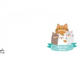 Taza Familia mascotas
