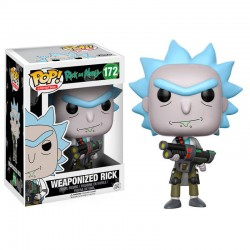 Figura Vinyl POP! Rick and Morty Weaponized Rick
