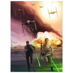 Puzzle Star Wars Episodio VII TIE attack 500pz