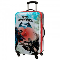 Maleta trolley ABS Batman vs Superman Epic Battle 4r 67cm