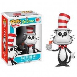 Figura Vinyl POP! Dr. Seuss Cat in the Hat Fish Bowl