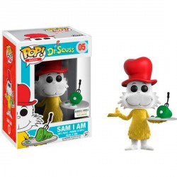 Figura Vinyl POP! Dr. Seuss Sam I Am Flocked