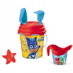 Cubo playa PJ Masks molde regadera*