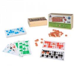 Bingo madera 36 cartones