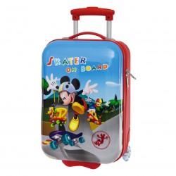Maleta trolley Mickey Disney Skater ABS 48cm 2r