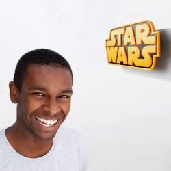 Lampara led 3D pared Logo Star Wars Disney