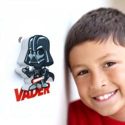 Lampara led 3D pared Darth Vader Star Wars Disney mini