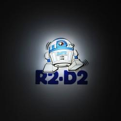 Lampara led 3D pared R2-D2 Star Wars Disney mini